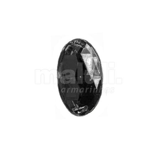 Chaton Acrilico Oval Com Furo Aquarela 2FE 13X18mm 100UN