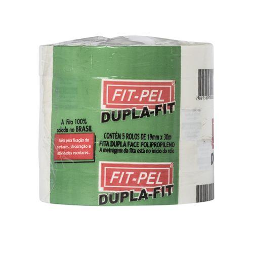 Fita Dupla-Fit Fitpel 19mm X 30 Metros 5UN