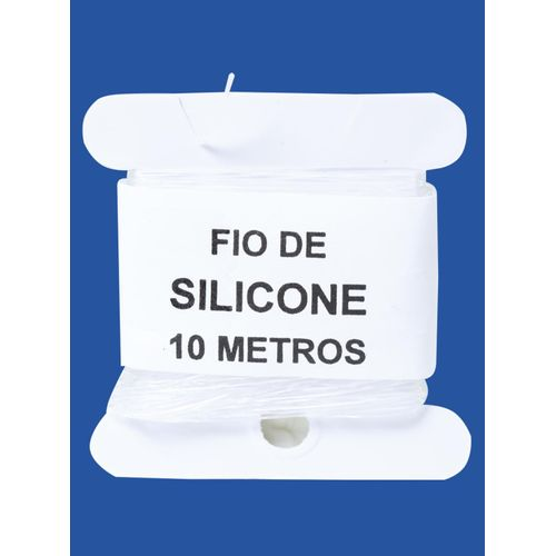 Fio de Silicone Costuratex 0,6mm 5UN C/10M