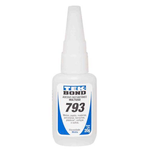 Adesivo Tek Bond 793 Media viscosidade 20G