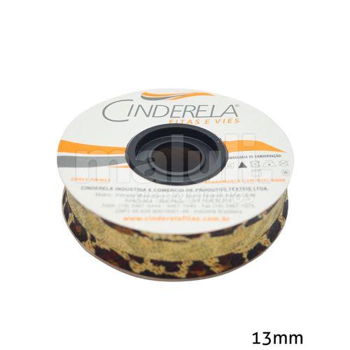 Viés com Lurex Cinderela 352A 13mm 20M