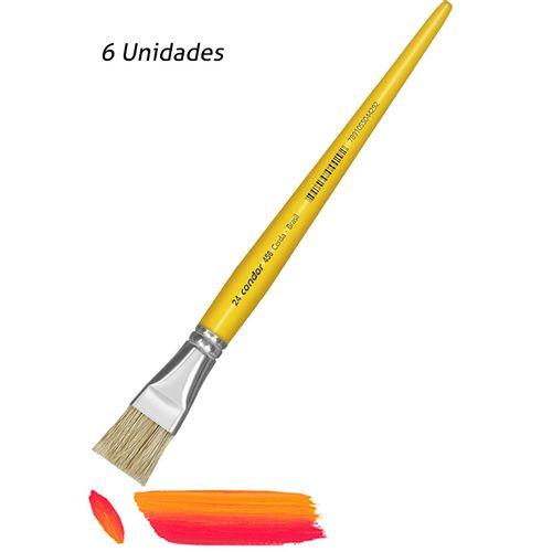 Pincel Artistico Chato Condor 456-24 6UN