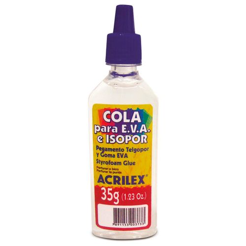 Cola Para Isopor e EVA Acrilex 17335 35G