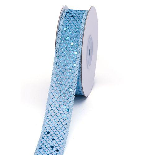 Fita Decorativa LU-6 25mm azul