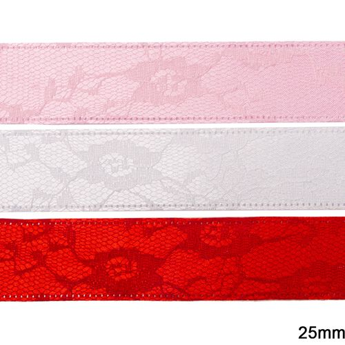 Fita Decorativa Luli LU-25 25mm 9,10M