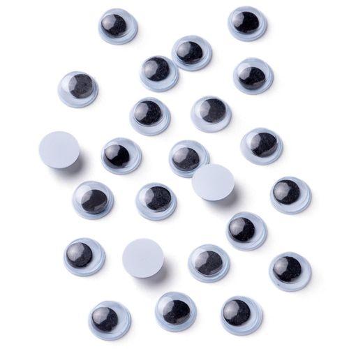 Olho Móvel Artesanato Luli 8mm 100UN