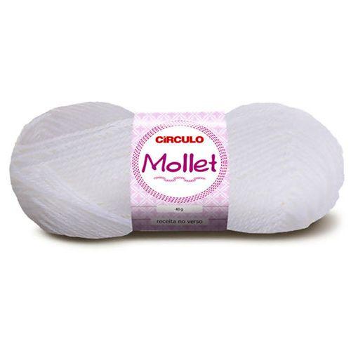 Lã Mollet Circulo 80M Pacote C/ 5UN