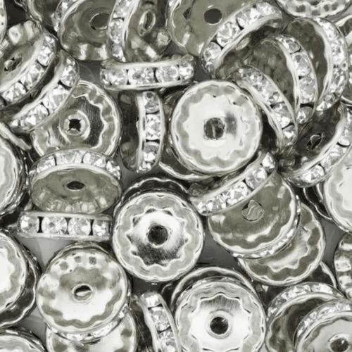 Anel Metal Strass Luli 12mm 50UN